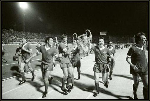 Emlyn Hughs UEFA CUP 1977